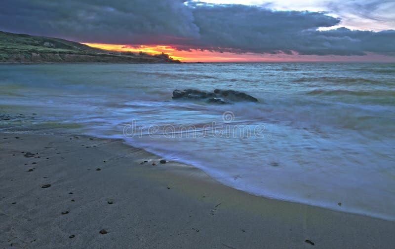 St Ives Beach stock foto's