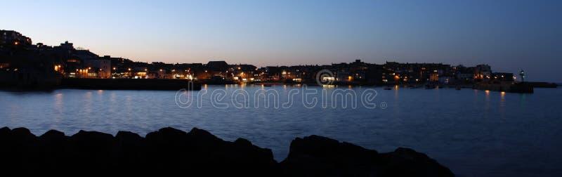 St Ives, bij zonsondergang stock afbeeldingen
