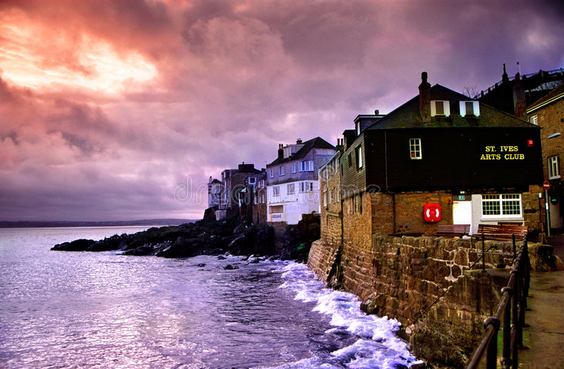 St Ives, Cornwall    royalty-vrije stock foto's