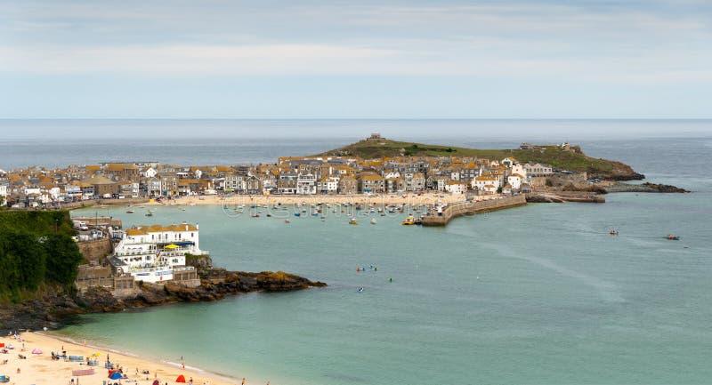 St. Ives in Cornwall royalty-vrije stock foto's