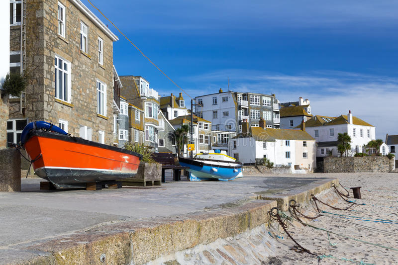 St Ives Cornwall stock afbeelding
