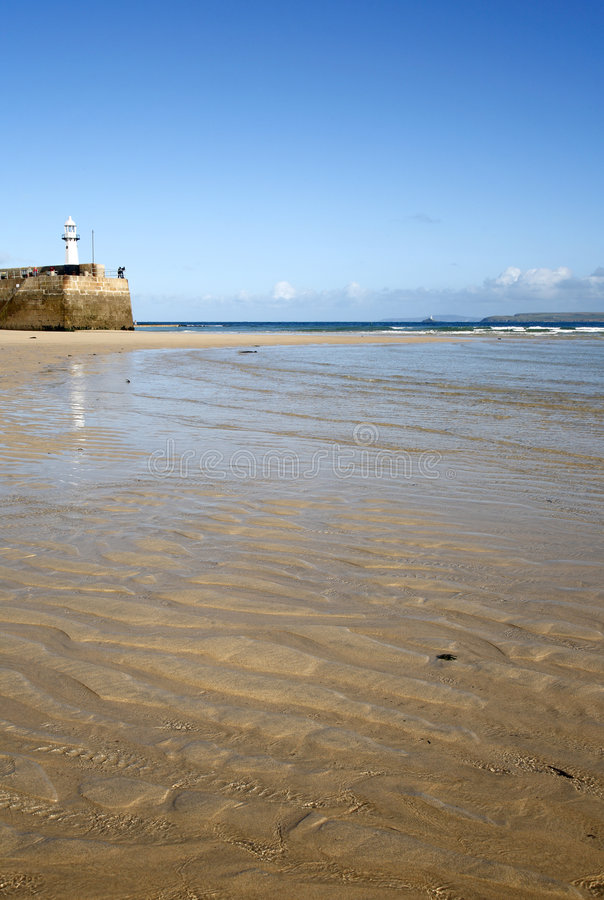 St. Ives, Cornwall. stock foto's