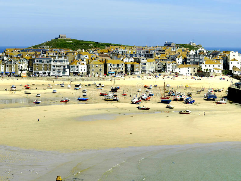 St.Ives, Cornwall stock foto's