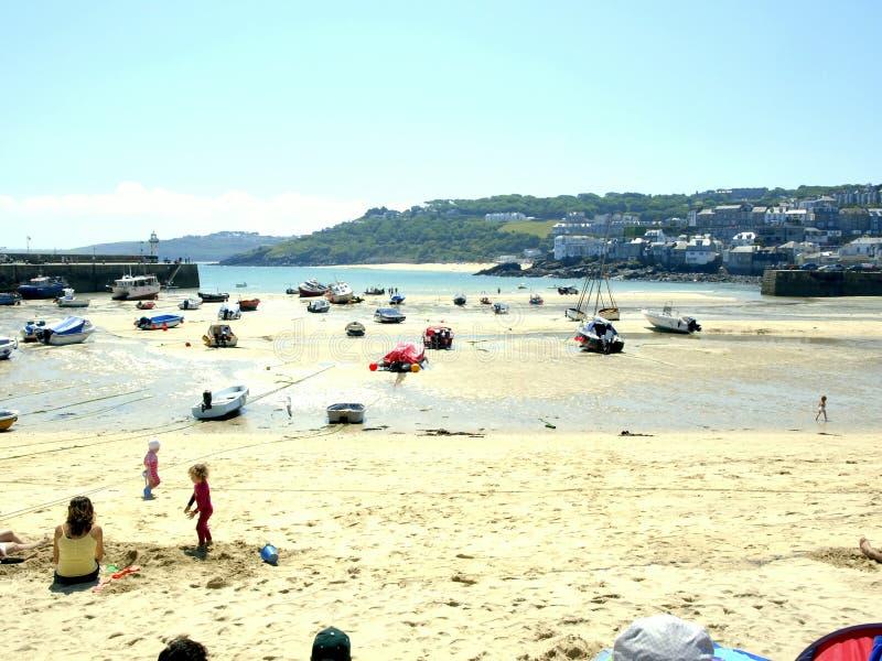 St. Ives, Cornwall. royalty-vrije stock foto