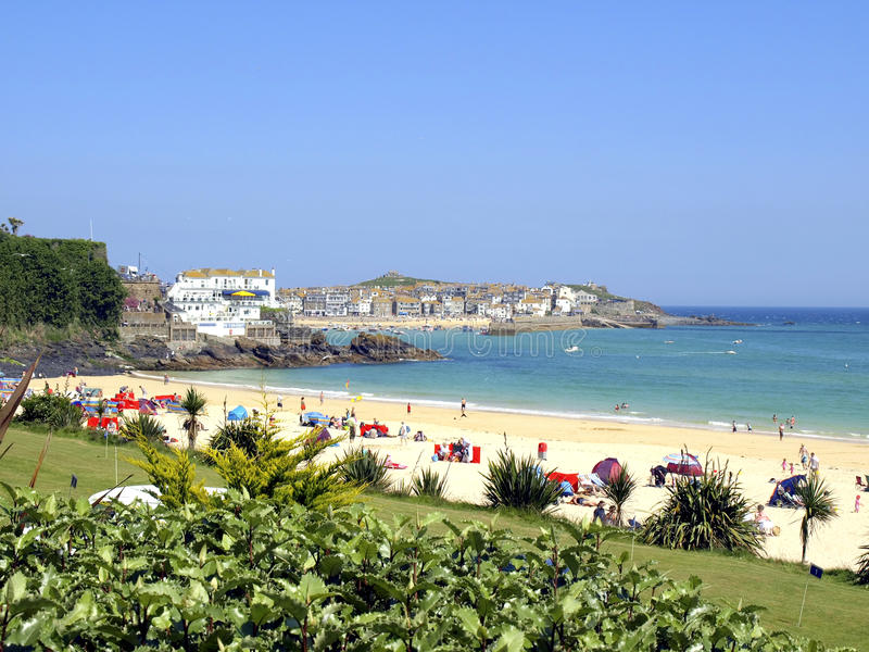 St. Ives, Cornwall. royalty-vrije stock afbeelding