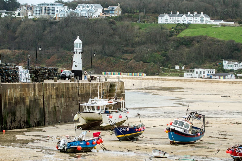 St Ives Cornwall stock foto's