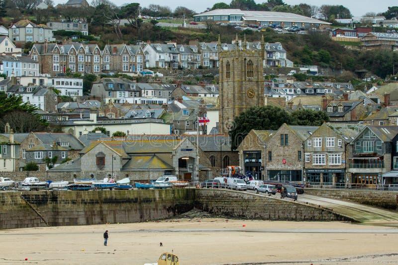 St Ives Cornwall stock afbeeldingen
