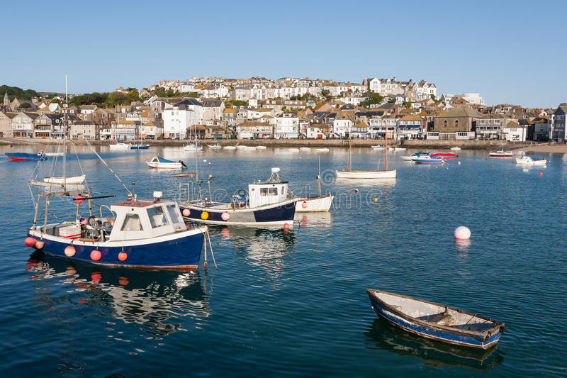 St Ives Cornwall Engeland stock foto's