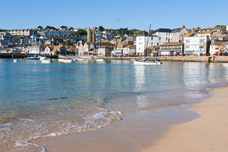 St Ives Cornwall Engeland royalty-vrije stock foto's