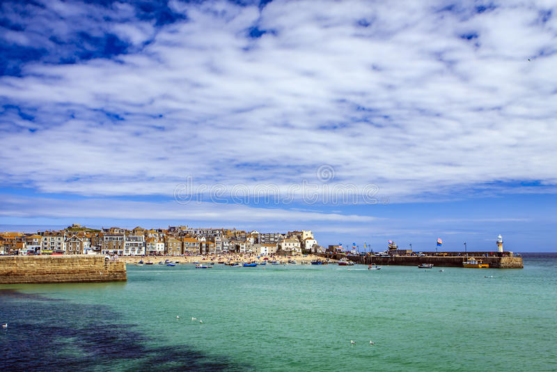 St Ives, Cornwall, Engeland, Groot-Brittannië stock afbeeldingen