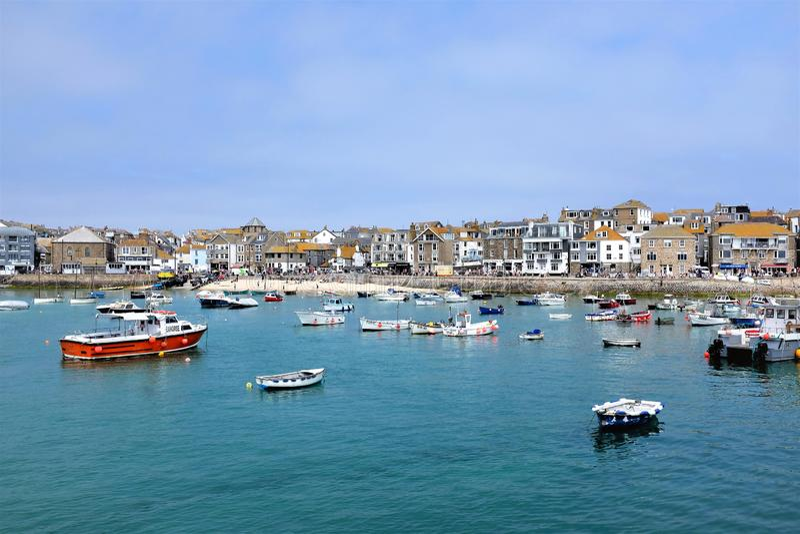 St Ives, Cornwall, Engeland, het UK royalty-vrije stock afbeelding