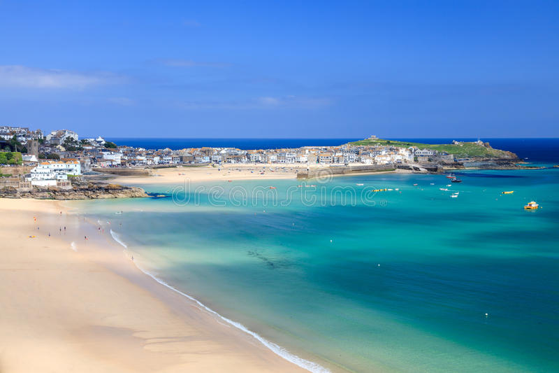 St Ives Cornwall England het UK royalty-vrije stock afbeelding