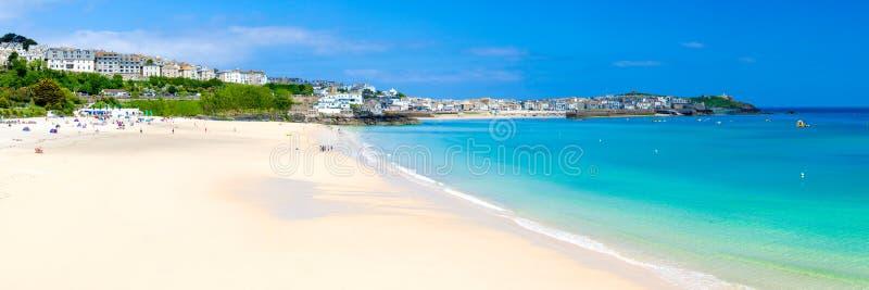 St Ives Cornwall England het UK stock foto