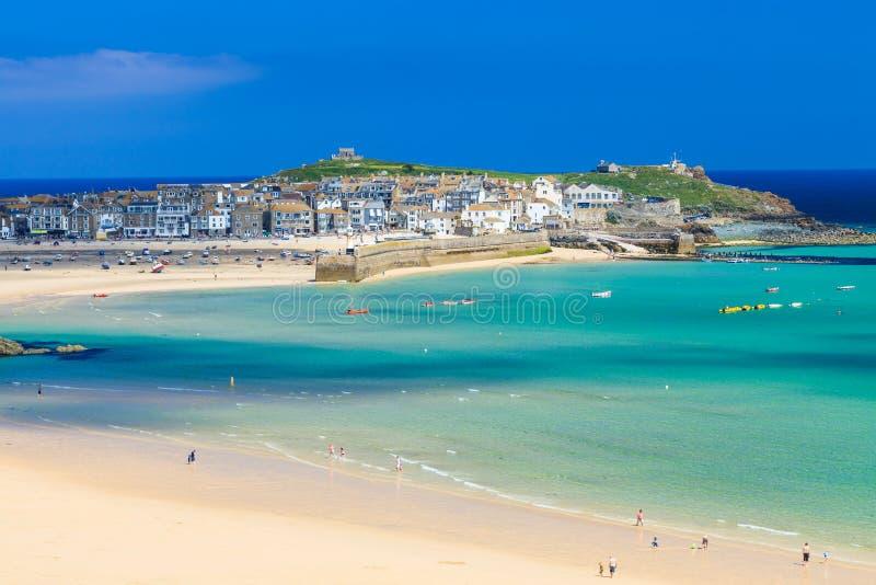 St Ives Cornwall England het UK stock afbeeldingen