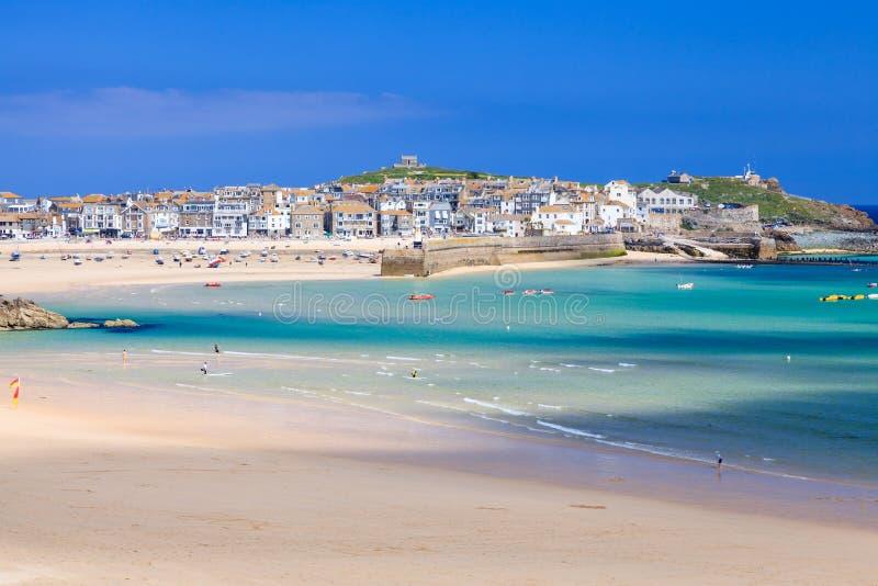 St Ives Cornwall England het UK royalty-vrije stock foto