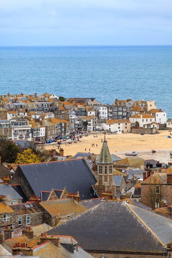 St. Ives Cornwall, het UK royalty-vrije stock foto's