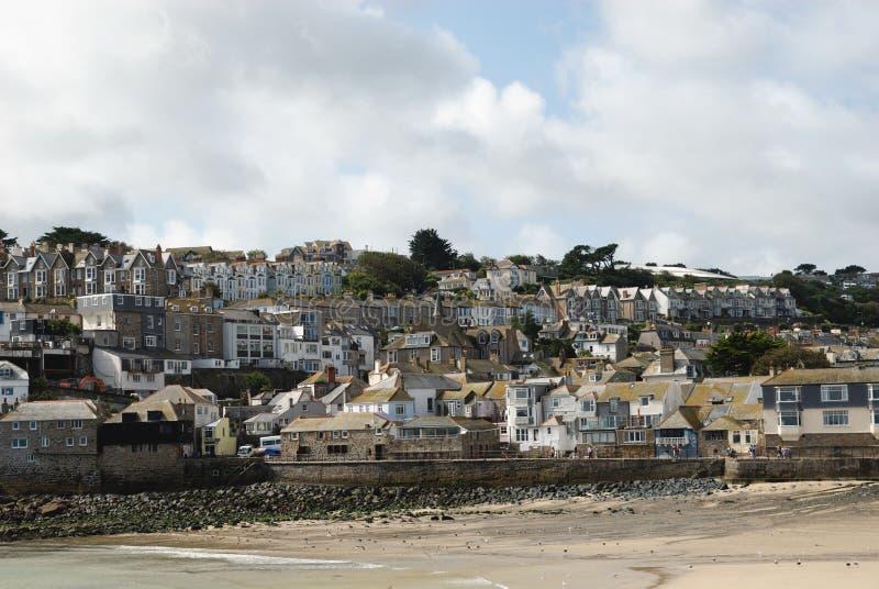 St. Ives, Cornwall, het UK stock afbeeldingen