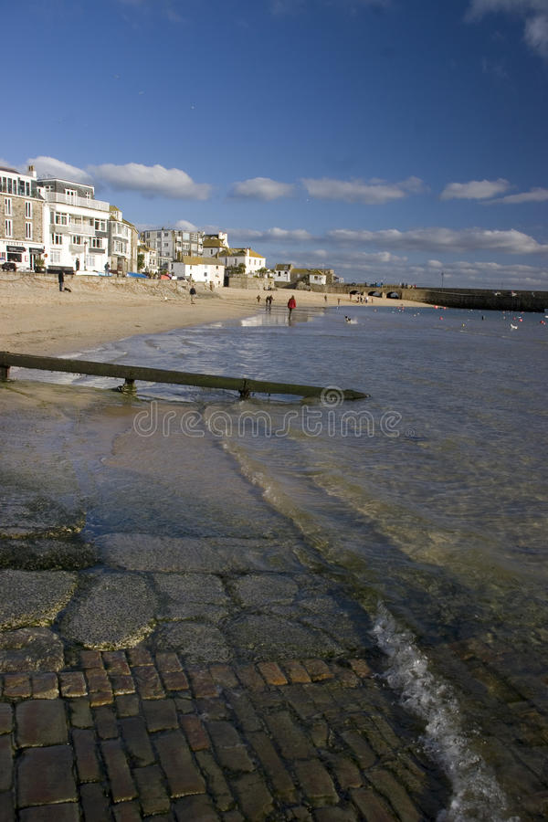 St Ives, haven royalty-vrije stock foto's