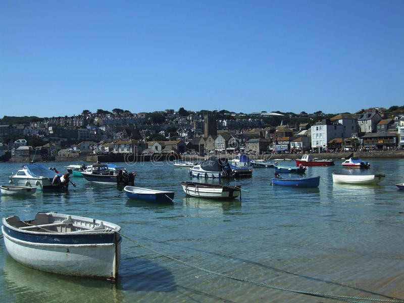 St Ives Haven royalty-vrije stock afbeelding
