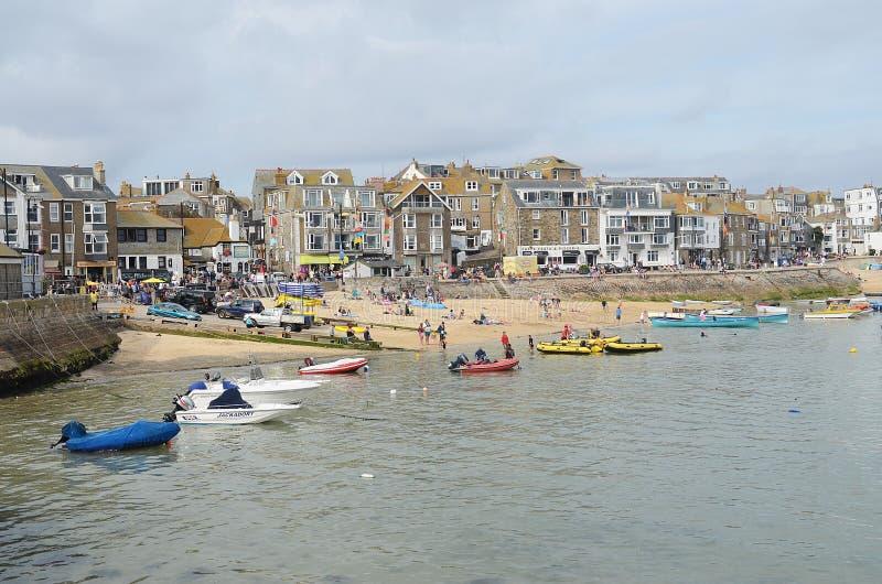 St Ives haven, Cornwall royalty-vrije stock fotografie