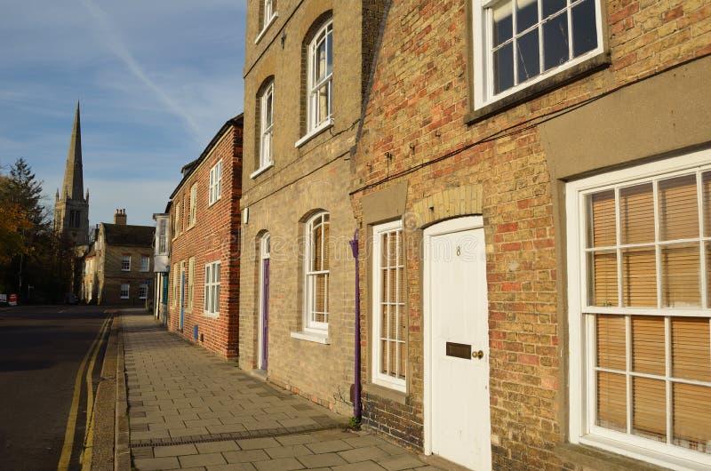 St Ives Street Cambridgeshire immagine stock
