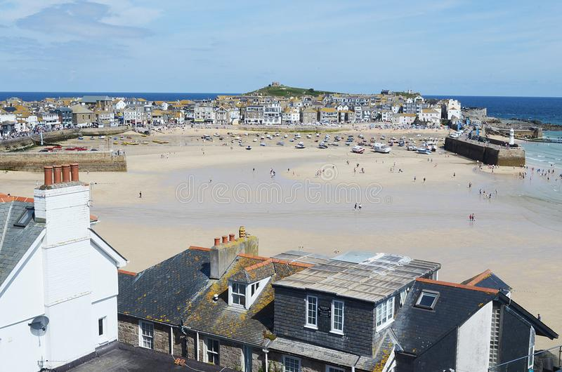St Ives in the sun royalty free stock images