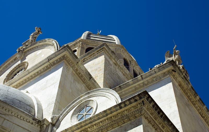 St. Jacob Cathedral, Sibenik, Croatia stock image