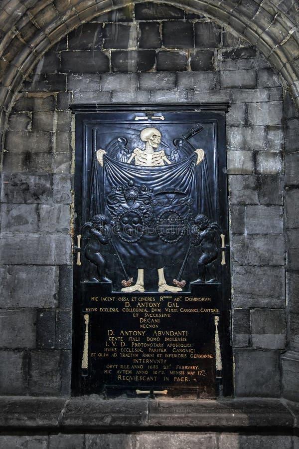 St Jacobs坟茔 免版税图库摄影