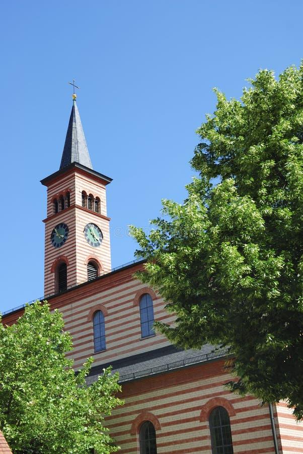St. Jakob教会 免版税库存图片