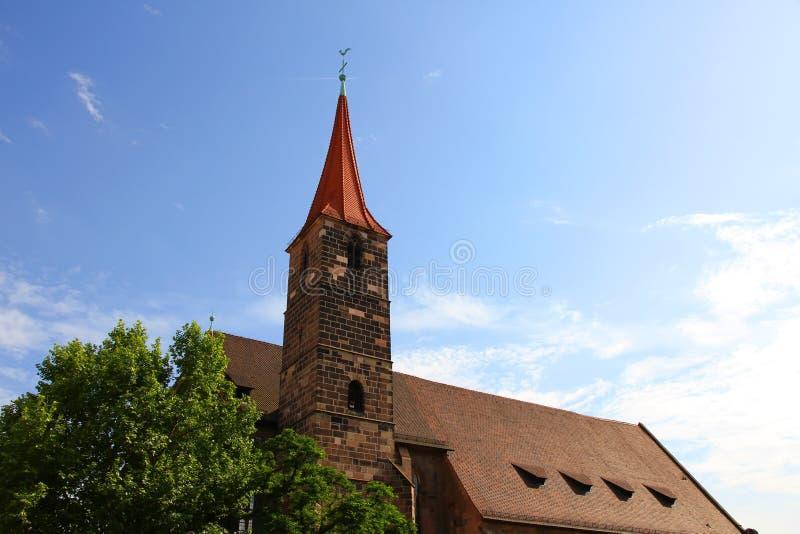 St. Jakob kościół w Nuremberg obrazy royalty free