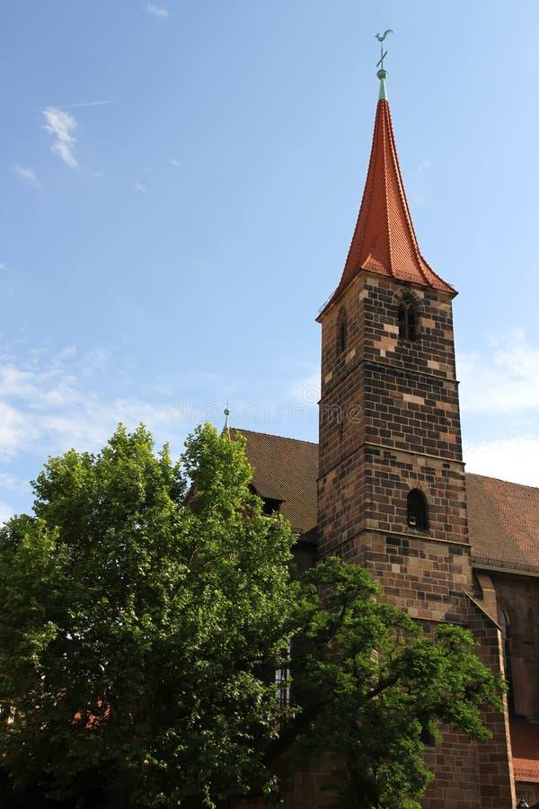St. Jakob kościół w Nuremberg obraz royalty free
