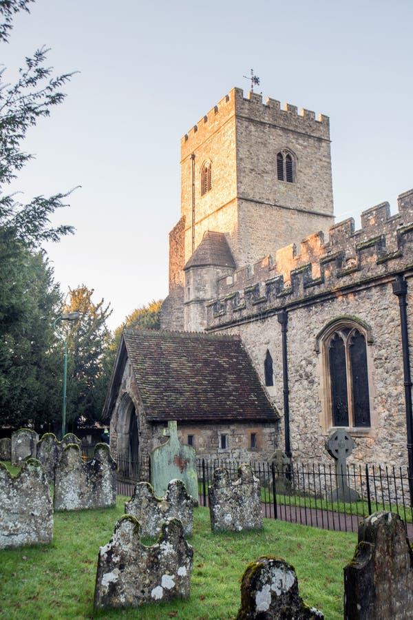 St. James über die Große Kirche stockfotografie