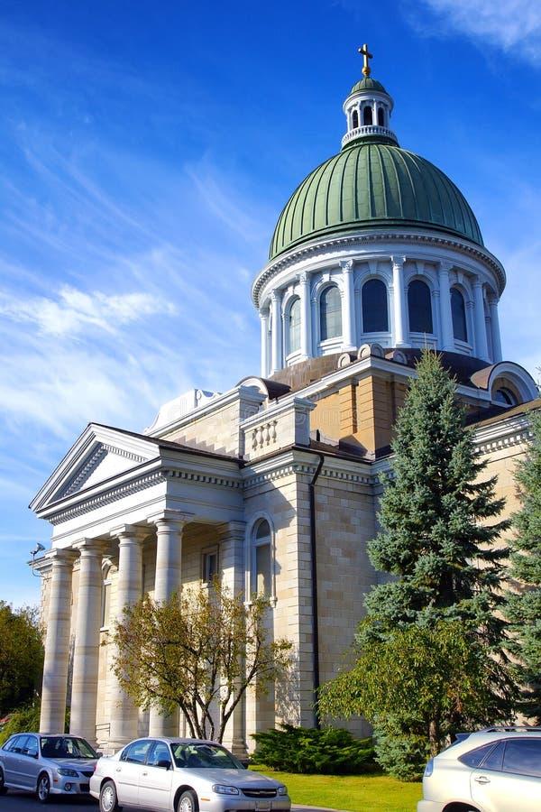 St. James Anglican Church Kingston Ontario Canadá imagen de archivo libre de regalías