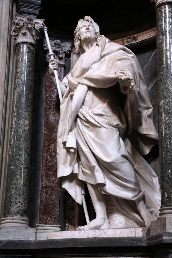 St James aposteln royaltyfri foto