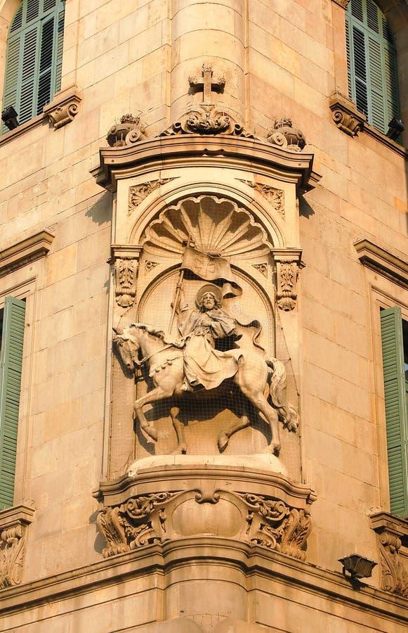 St James - Barcellona immagine stock