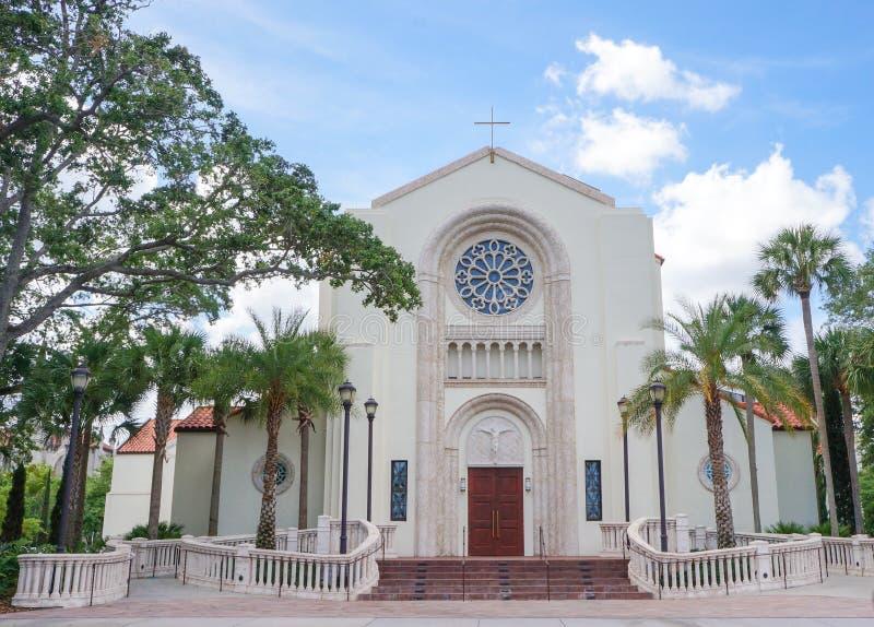 St. James Catholic Cathedral, Downtown Orlando, Florida stock images
