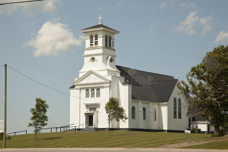 St. James Catholic Church PEI stockbilder