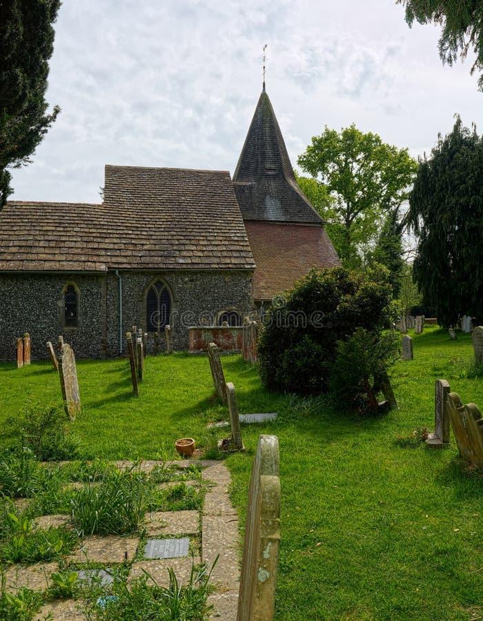 St James Church, Ashurst, West Sussex Il Regno Unito fotografia stock libera da diritti