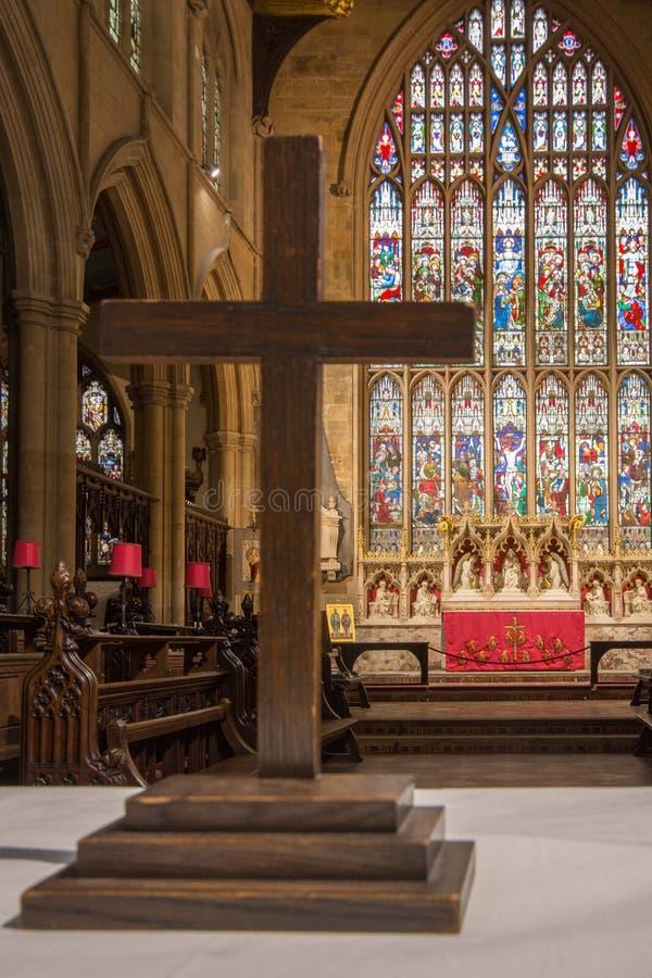 St James Church Louth royaltyfria bilder