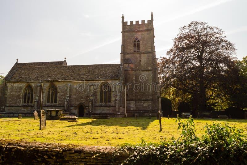 St James The Elder Facade B Horton England imagem de stock royalty free