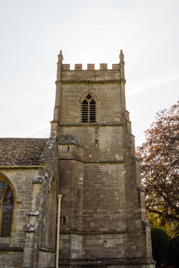 St James The Elder Tower C Horton England foto de stock