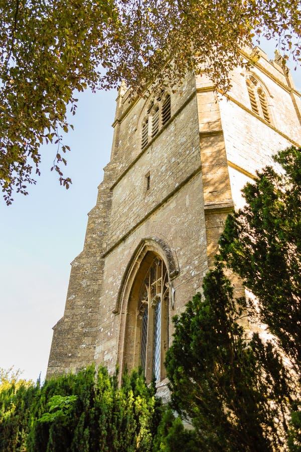 St James The Elder Tower Horton England imagem de stock
