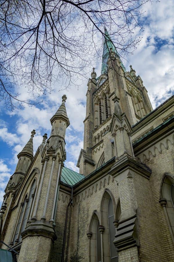 St James kathedraal royalty-vrije stock afbeelding