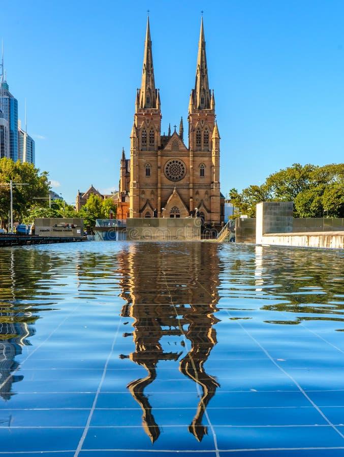 St James Kerk, Sydney royalty-vrije stock afbeelding