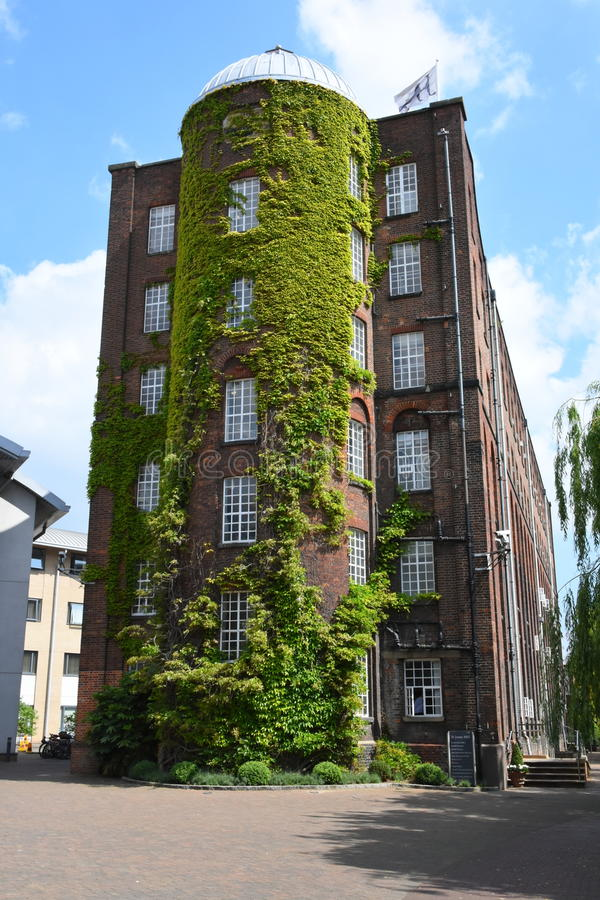 St James Mill, Norwich, Angleterre photos stock