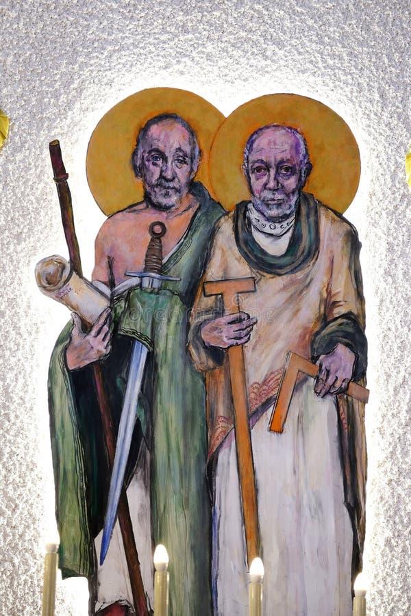 St James mindre och St Thomas arkivfoton