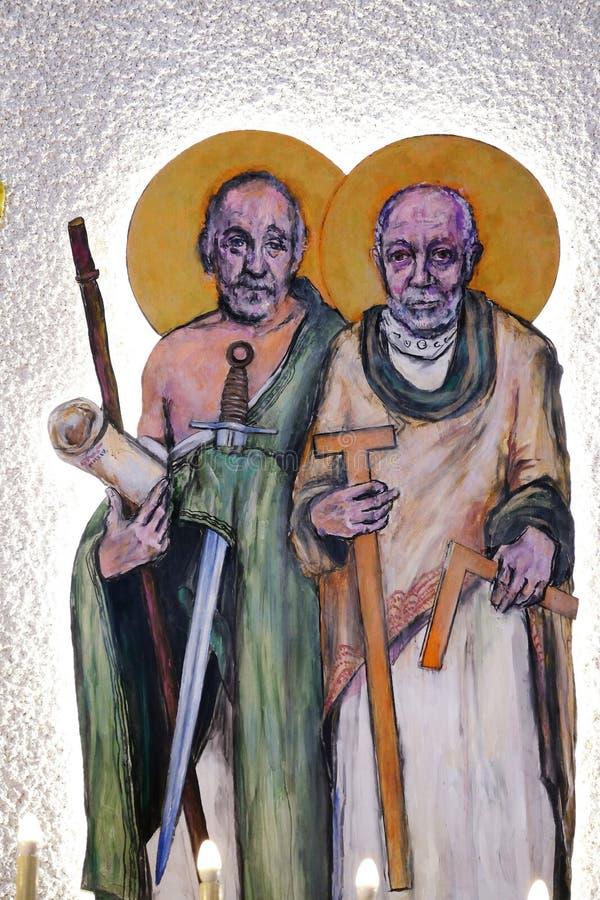 St James mindre och St Thomas arkivfoto
