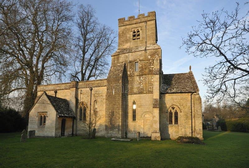 St James normandkyrka royaltyfria bilder
