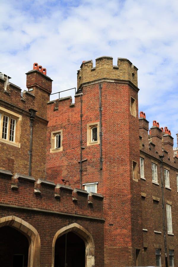 St James Palace à Londres photo stock