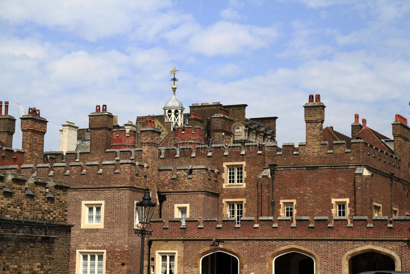 St James Palace en Londres fotografía de archivo